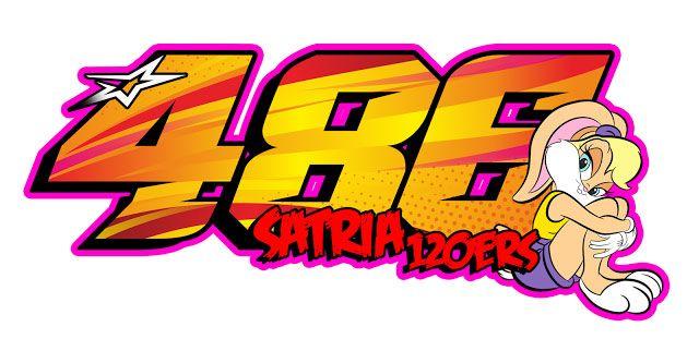Desain Stiker Racing Untuk Nomor Start Balap Desain Stiker