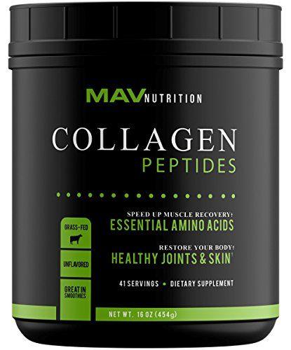 Premium Collagen Peptides 16oz Pastureraised Grassfed Paleo Friendly 100 All Natural Nongmo And Gluten Free Pure Hydrolyze Collagen Peptides Collagen Peptides