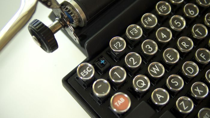 The Qwerkywriter: More awesome than quirky | Want it
