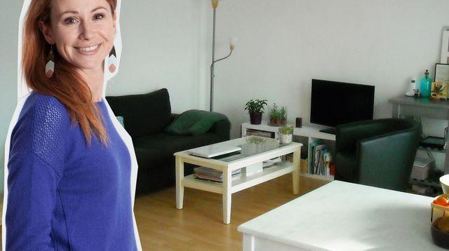 Comment créer deux espaces dans un séjour de 16 m2