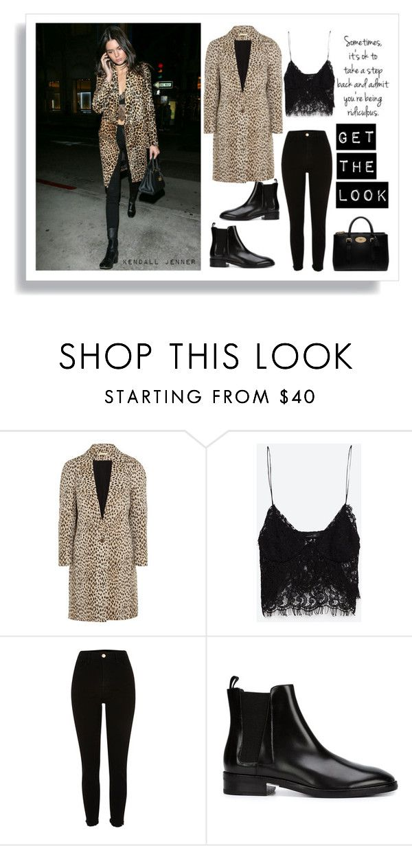 """""""Kendall Jenner"""" by nata0 ❤ liked on Polyvore featuring Diane Von Furstenberg, Zara, Alexander Wang and Mulberry"""