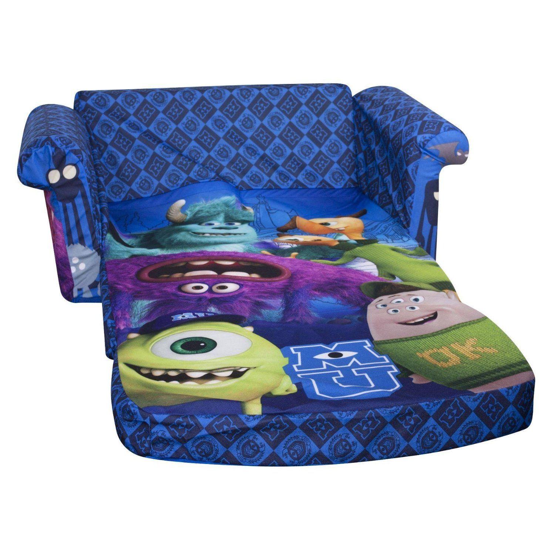 Marshmallow Furniture Monsters University Flip Open Sofa