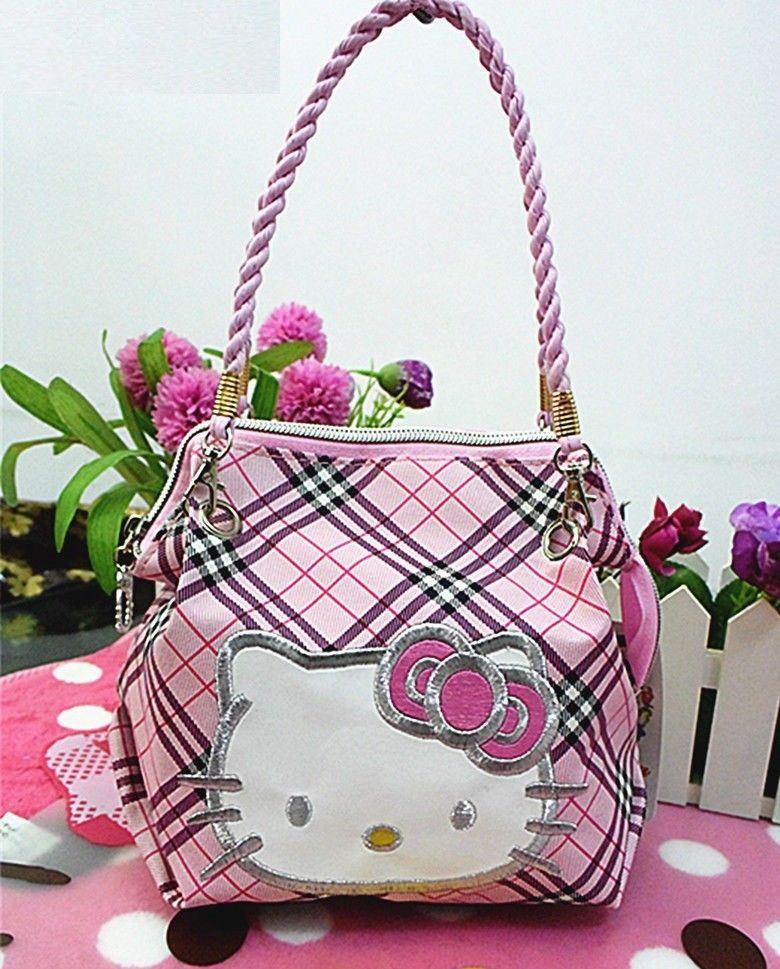 8c74b92f8 handbag hello kitty women shoulder bag cat New crossbody Pink high quality  #Unbranded #ShoulderBag