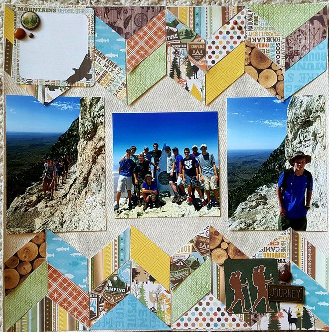 Layout: Guadalupe Mountain Hike
