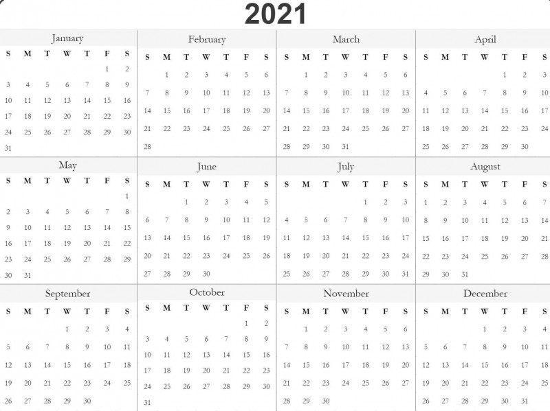 Blank One Month Calendar Template Awesome Free 2021 Printable Monthly Cale In 2020 Free Printable Calendar Templates Monthly Calendar Printable Free Printable Calendar