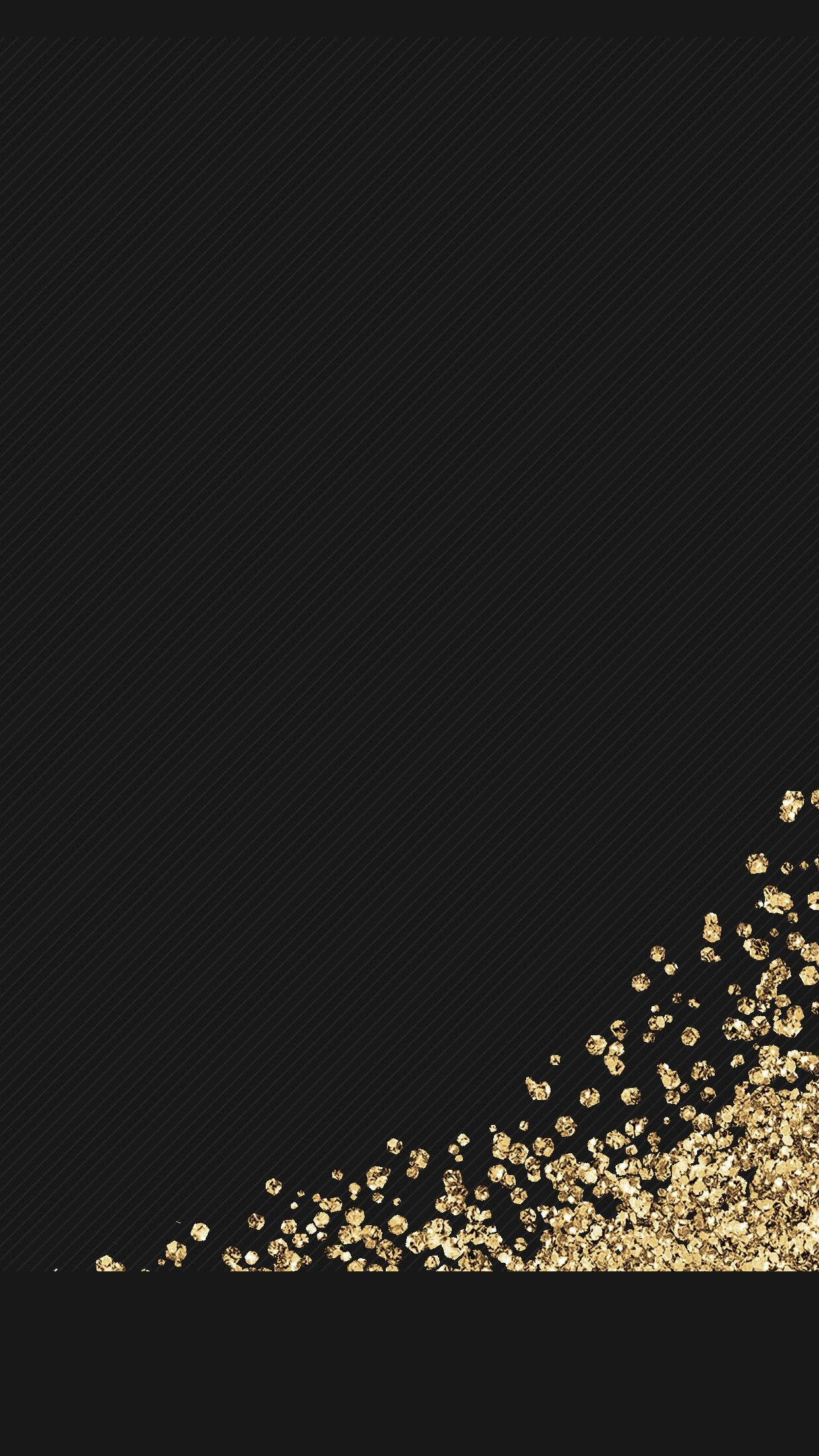 black gold glitter wallpaper background iphone android hd
