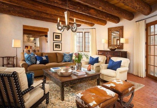 Modern Southwest Styled Living Room By Violante & Rochford
