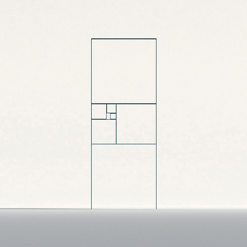 Peng Wang's Fibonacci Shelf   Featured on Sharedesign.com