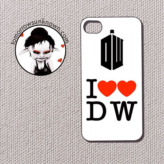 Iphone 4 iphone 4s Case Cell Phone Cover  Doctor Who by CUDAGE, $15.99