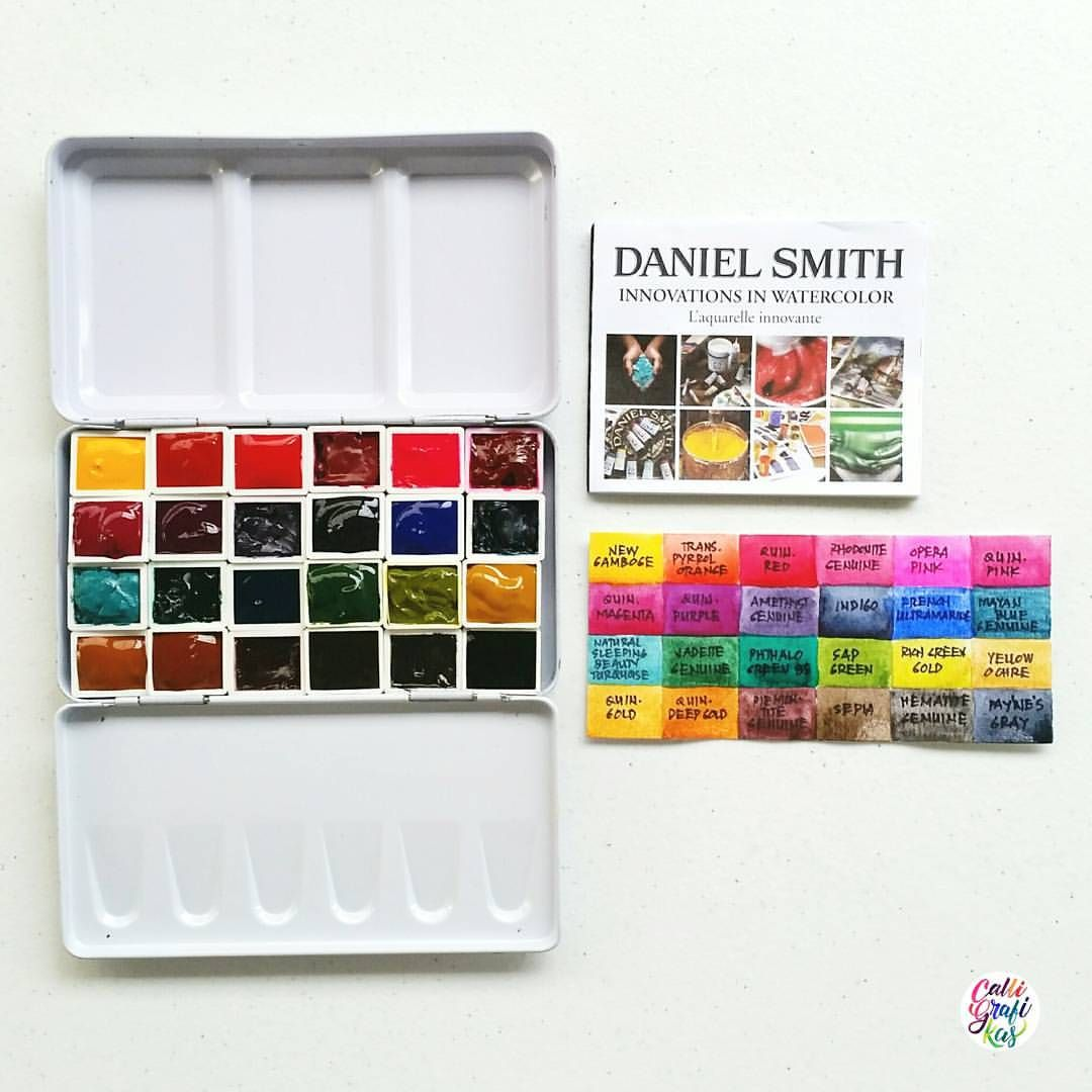 And Finally 24 Colors Of Daniel Smith Just Staring At