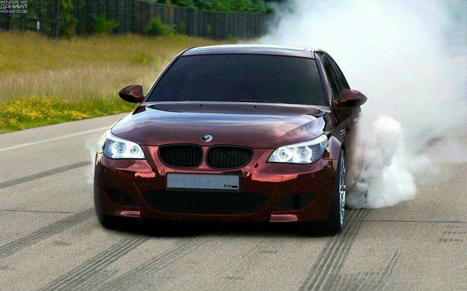 Bmw E60 M5 Burgundy Burnout Bmw Bmw Bmw M5 Bmw E60