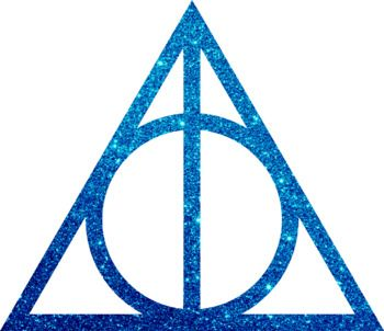 Harry Potter The Deathly Hallows Glitter Clip Art Harry Potter Clip Art Deathly Hallows Clip Art