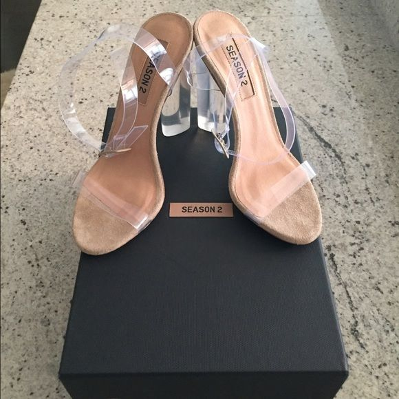 Yeezy Shoes - Yeezy Season 2 Lucite Heels sz 36