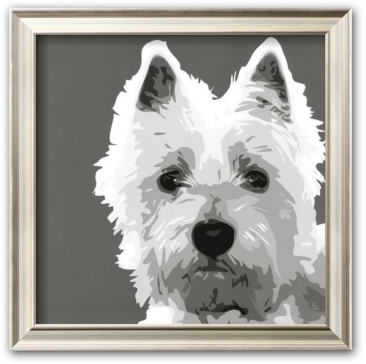 West Highland Terrier Wall Art Supplies Bold Doggy Charm The High Quality Printing Gives Highlands Terrier West Highland Terrier West Highland White Terrier