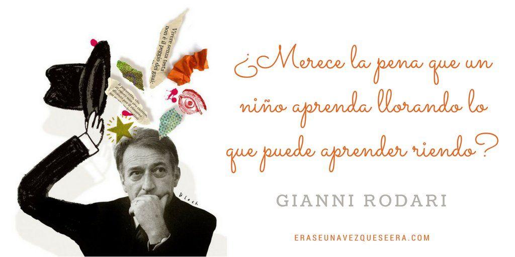 Gianni Rodari | Citas de escritor, Citas literarias, La escritura ...