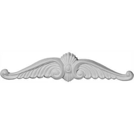 Ekena Millwork Wings 1 3/4''H x 8 1/8''W x 5/8''D Onlay Center, Multicolor