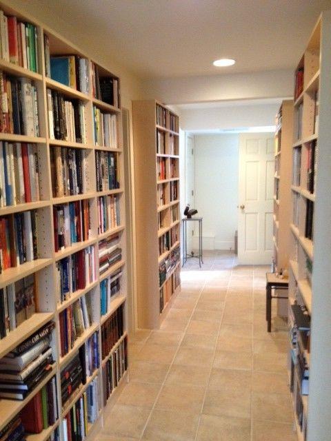 Mezzanine Study Bookshelves