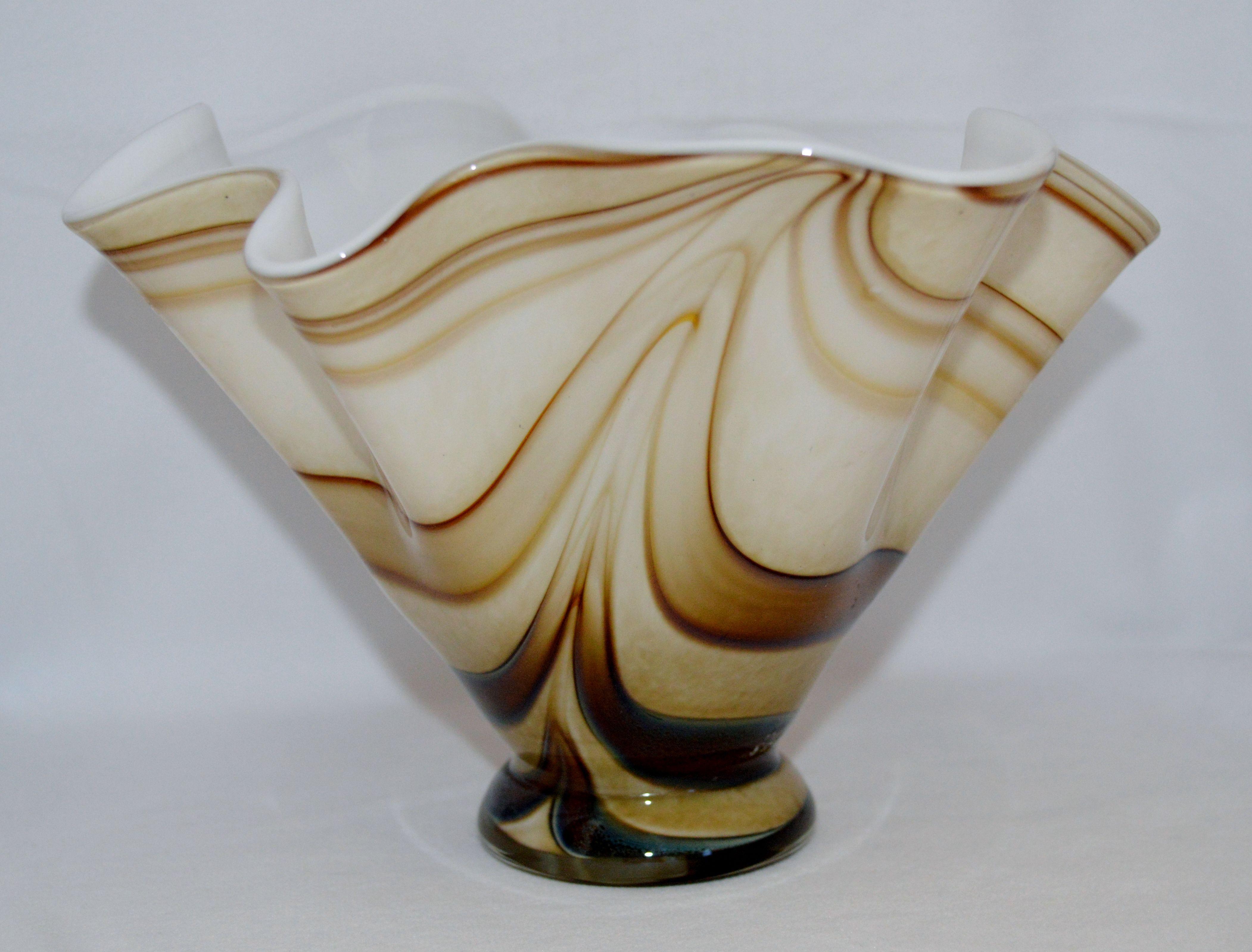 Krosno polish makora glass vase hand blown artisan by jozefino krosno polish makora glass vase hand blown artisan by jozefino reviewsmspy