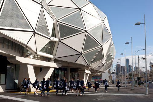 Photo: Detail Of AAMI Park Football Stadium Swan Street Melbourne…