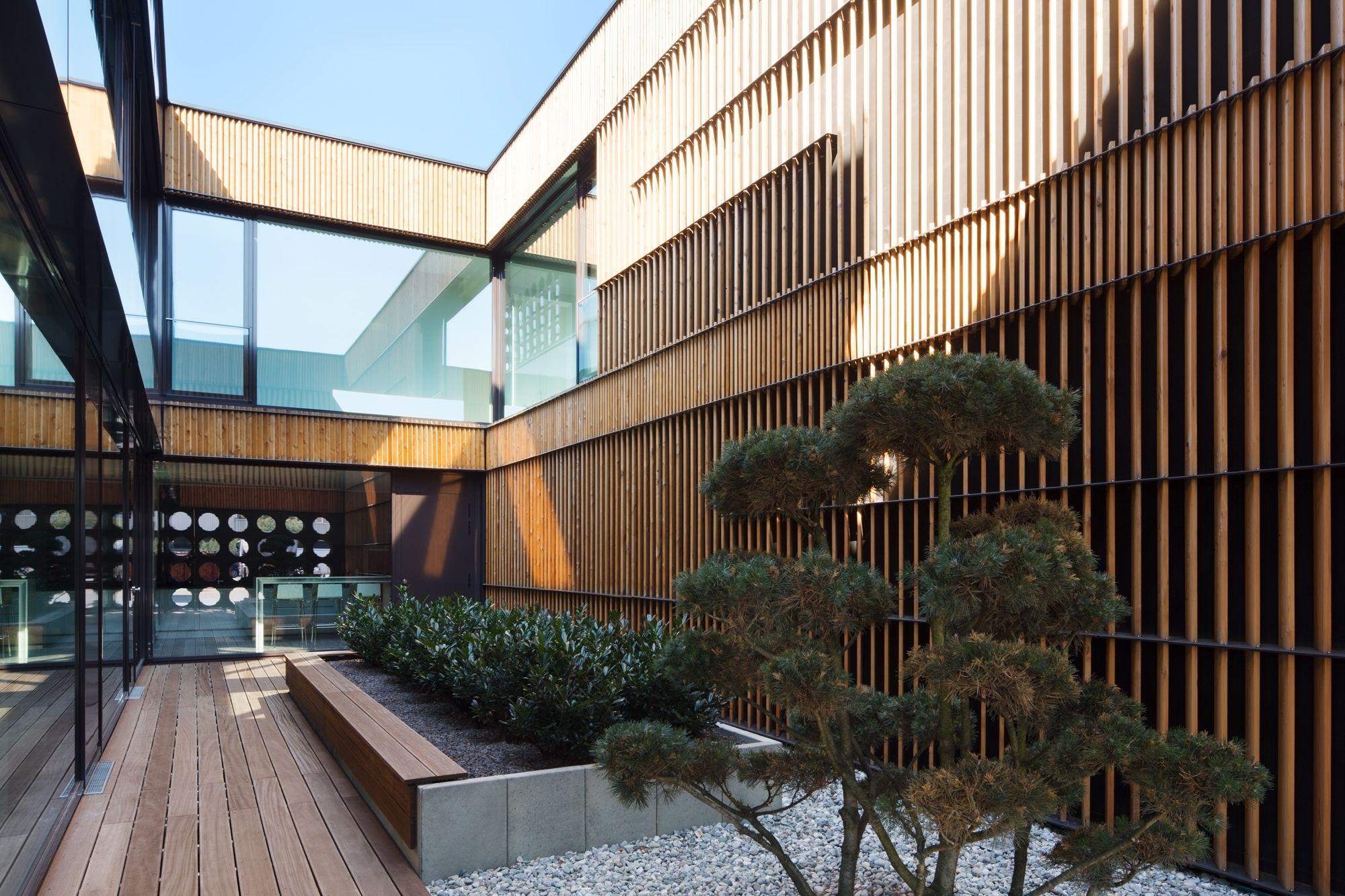 Architekten Schweinfurt rostiger ruhepol büro und betriebsgebäude in schweinfurt