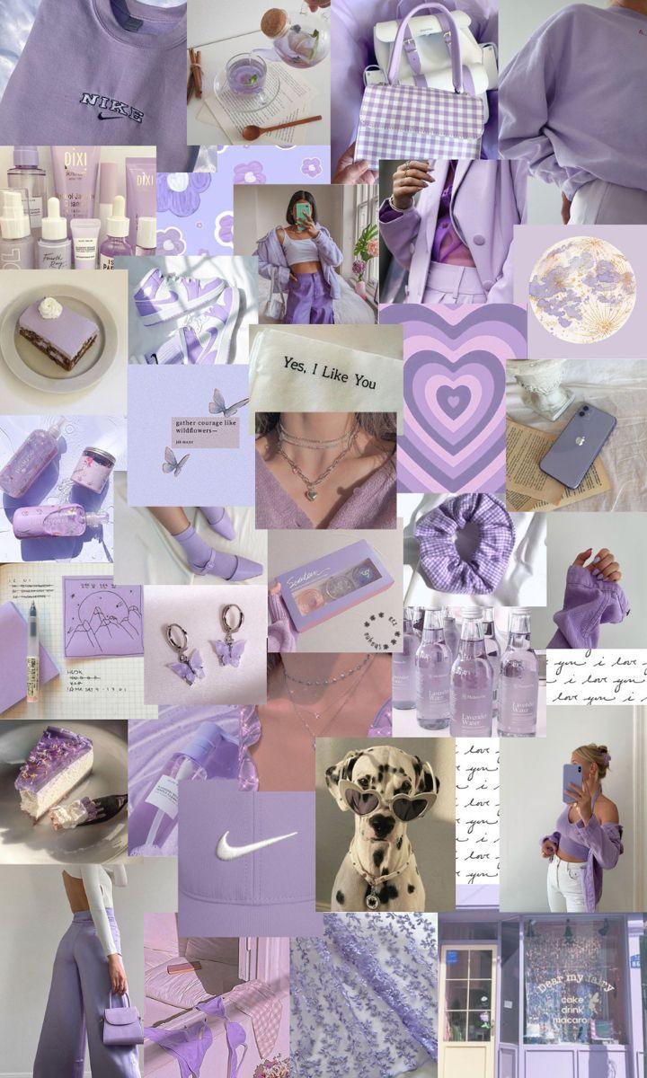 pale purple aesthetic iphone wallpaper