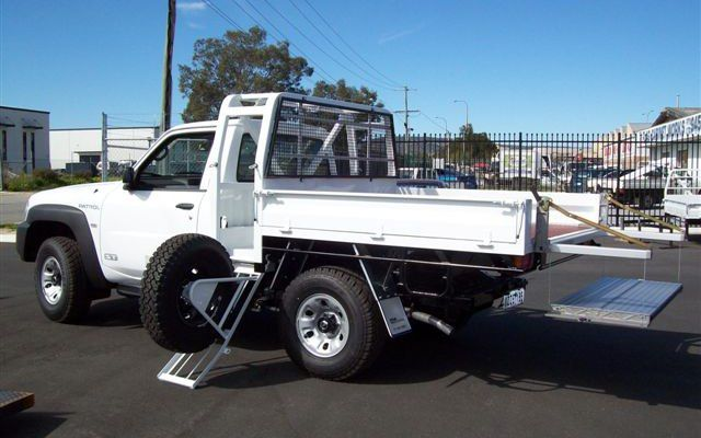 Image Result For Ute Tray Spare Wheel Carrier Wheel Carrier Ute Trays Ute