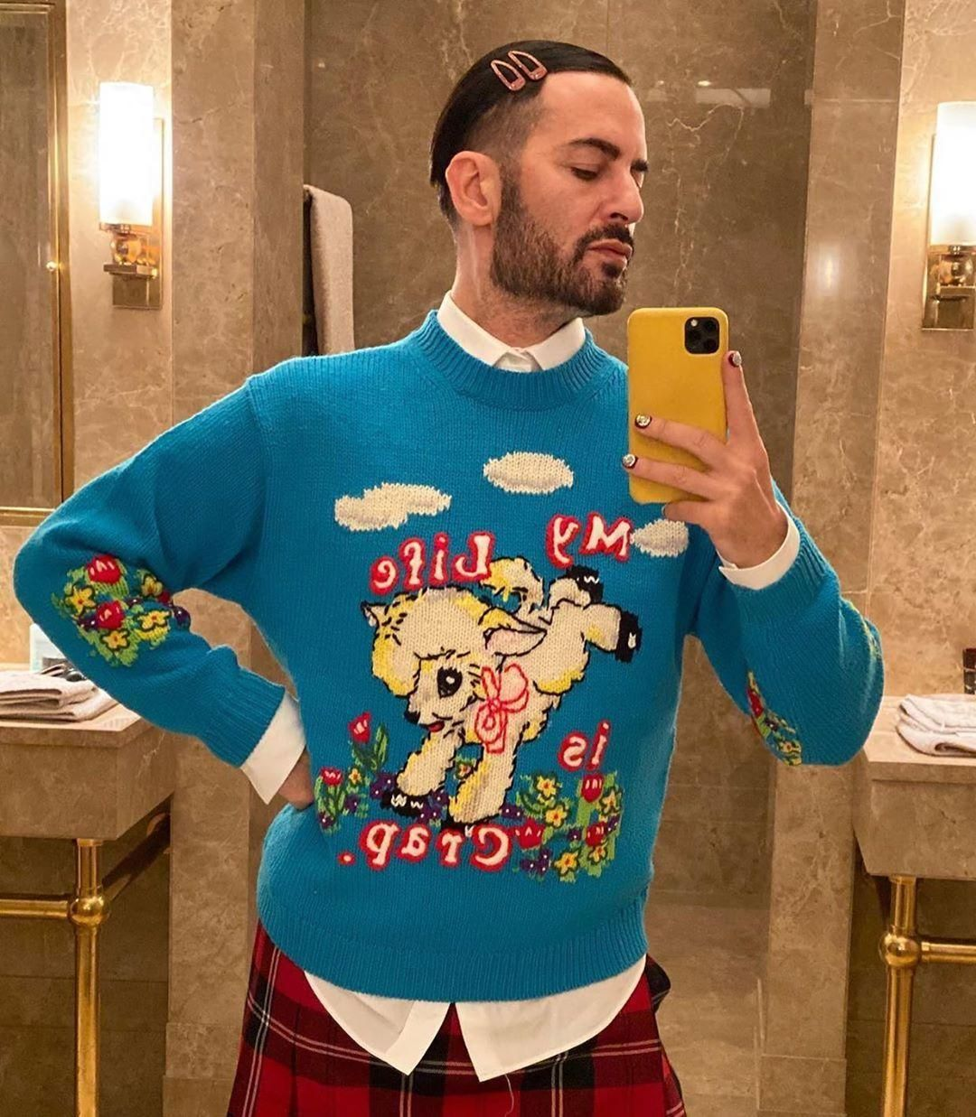 Magda Archer x The Men's Intarsia Sweater Marc Jacobs in 2020 ...