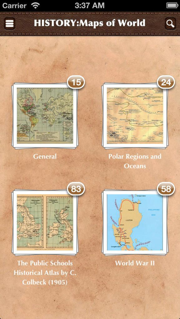 Explore the world through interactive maps illustrating