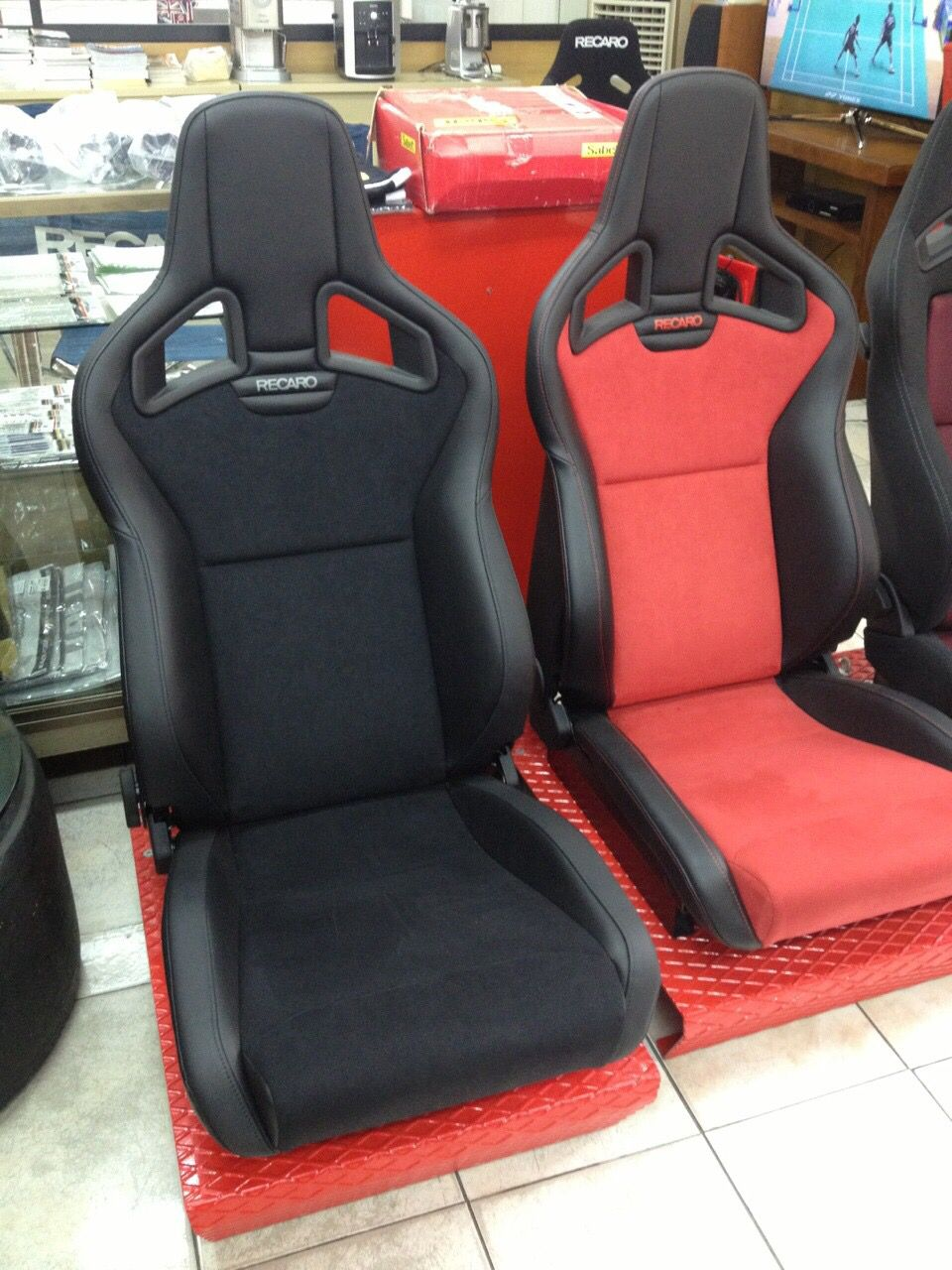 Recaro Racing seats, Recaro, Lexus gs300