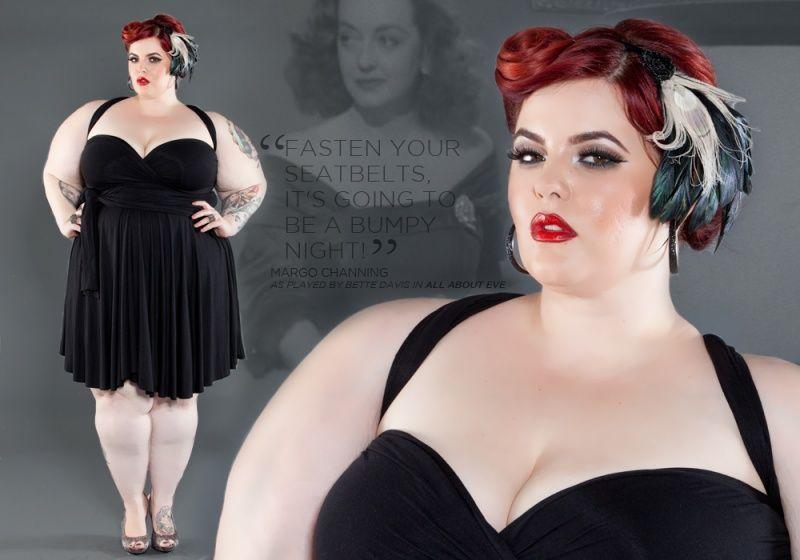 Así es Tess Munster, la chica de talla grande de la moda que derriba mitos