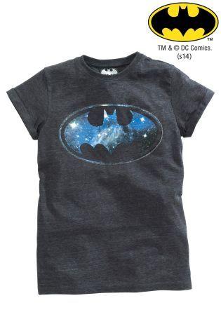 Buy Black Batman® Logo Short Sleeve T-Shirt (3-14yrs) from the Next UK online shop