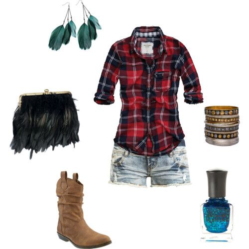 Country Western Clothing for Women | Frat Party What-to-Wear Series Western/Country/Cowboy ...