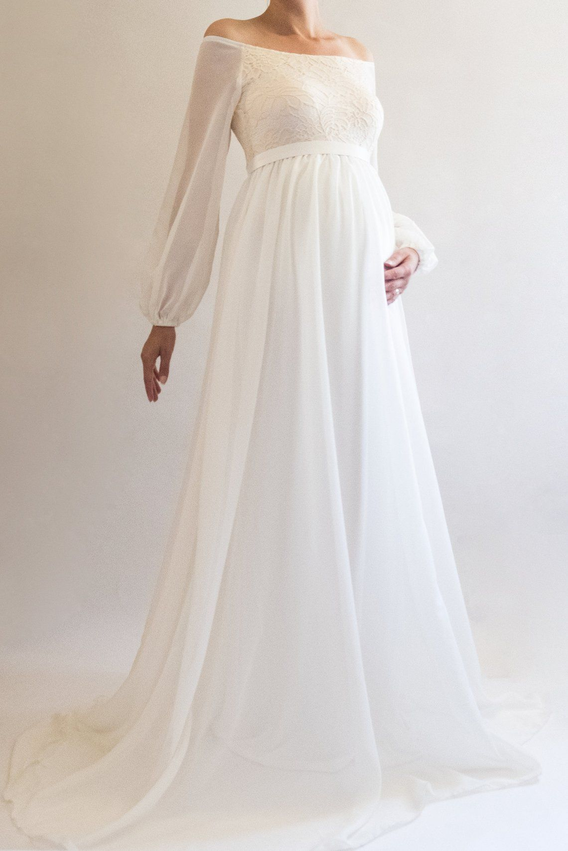 Annabelle boho wedding dress maternity dress bridesmaid dress