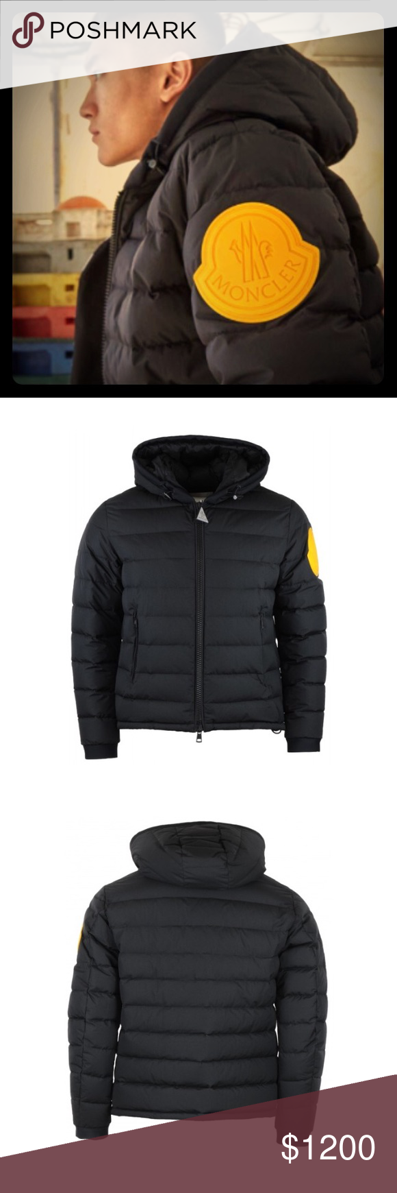 BRAND NEW Moncler x Offwhite 'Dinard quilted down NWT