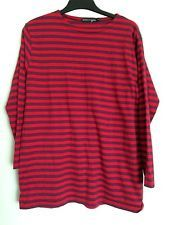 GUDRUN SJODEN LADIES STRIPEY TOP/TUNIC SIZE M - FAB FOR AUTUMN