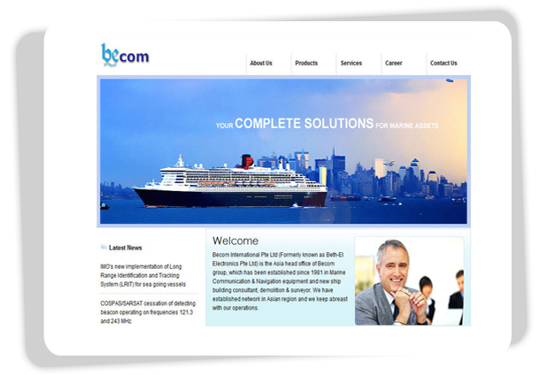 Becom  Becom is a worldwide marine company with strong focus in high technology marine equipment. #Singapore