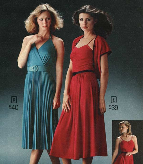 Women's Dresses from a 1979 catalog #1970