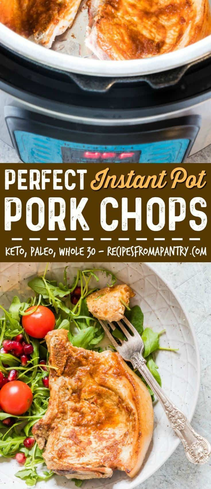 You are going to LOVE this easy Instant Pot Pork Chops ...