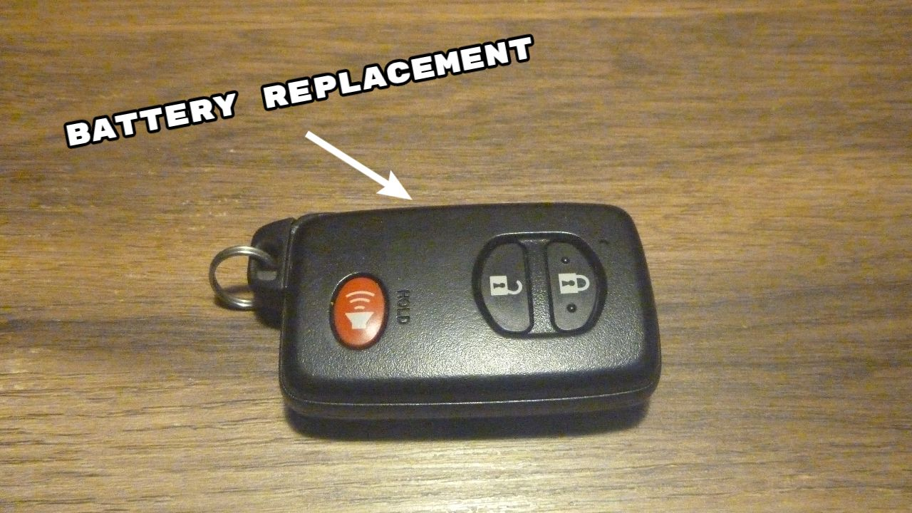 In The Video You Will See How To Change Dead Key Fob Battery