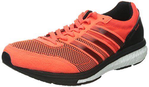 Línea de metal Paine Gillic soltero  Adidas Adizero Boston Boost 5 Running Shoes - 12 - Orange adidas  http://www.amazon.com/dp/B00MP35W1C/ref… | Running shoes for men, Running  shoes, Best running shoes