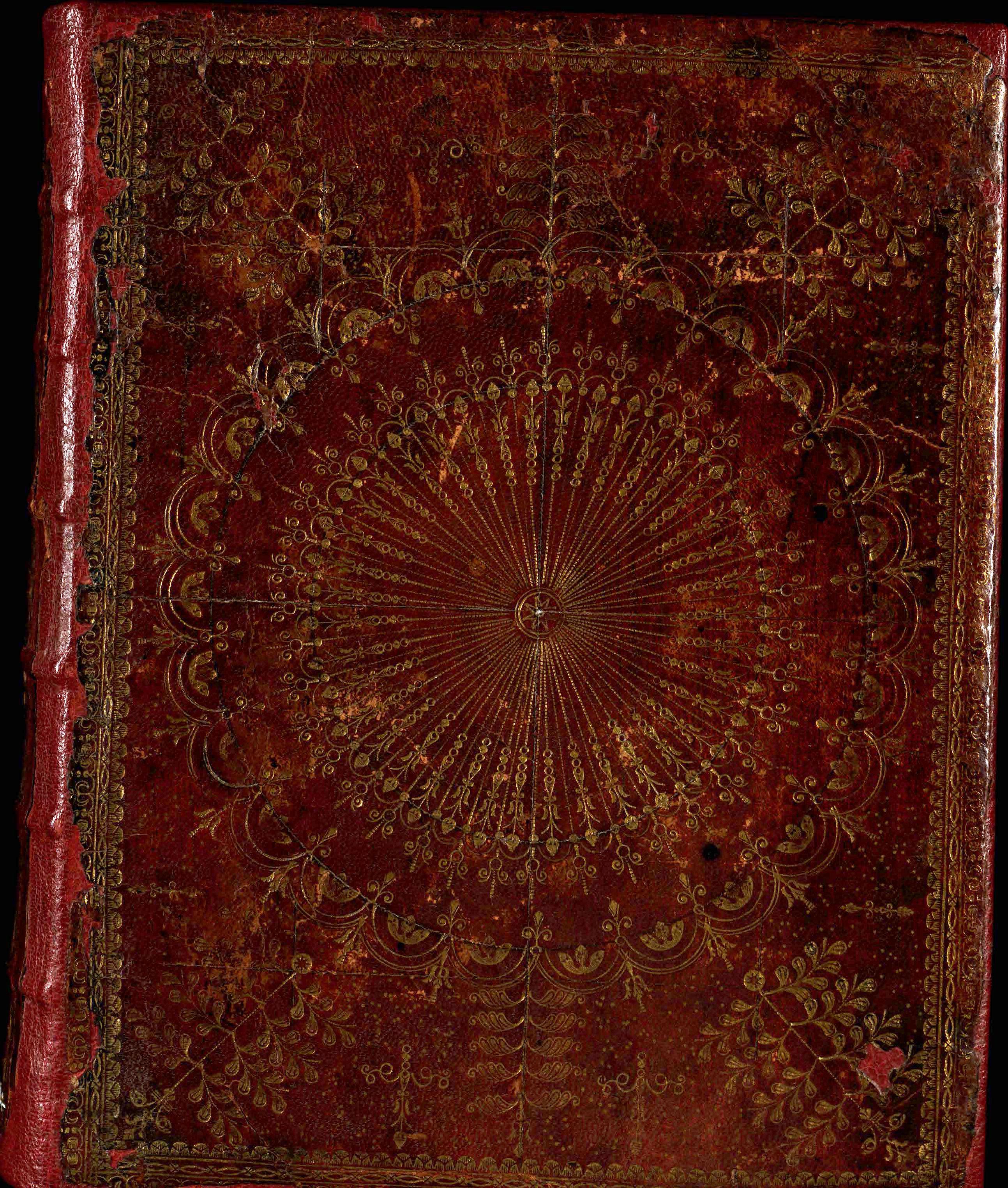 18th Century Scottish Bookbinding: The Wheel Pattern