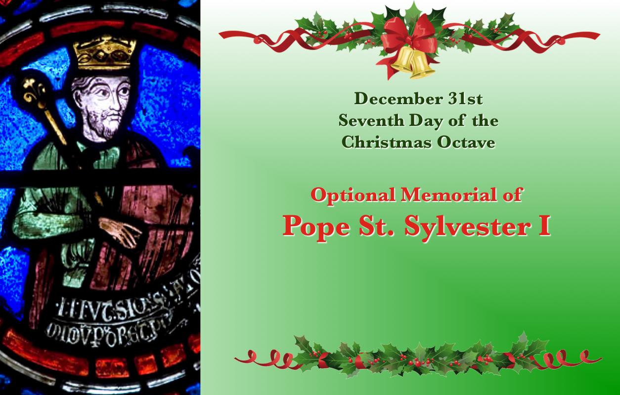 Dec 31st St Sylvester