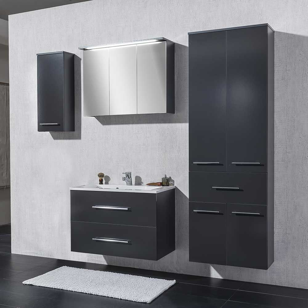 Badmöbel Kara Anthrazit Pin By Ladendirekt On Badmöbel In 2019 Bathroom Furniture Design