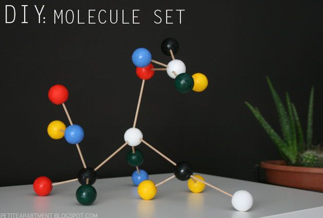 diy molecule set #midcentury #midcenturymodern #moleculeset #decor #home #retro #ferm #diy #project #simple