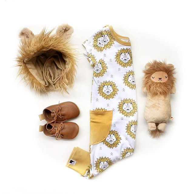 af0cb11b6 Lion baby outfit + romper - Mount Zi baby and kid s clothing. Baby ...