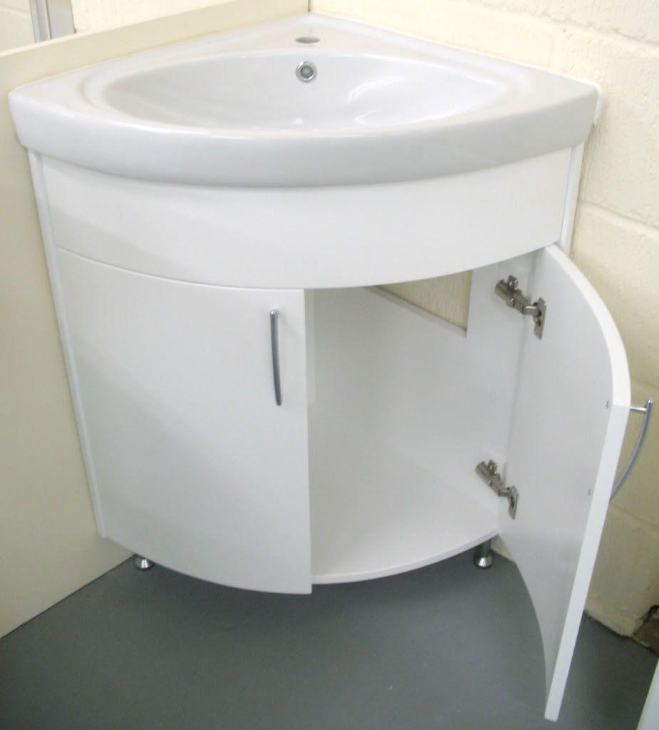 Bathroom Affordable Corner Bathroom Sink Countertop With White Double Doors Cabinet Used Wood Legs Above Ceramic Floor Used Sof Corner Sink Bathroom Small Bathroom Sinks Small Bathroom Vanities