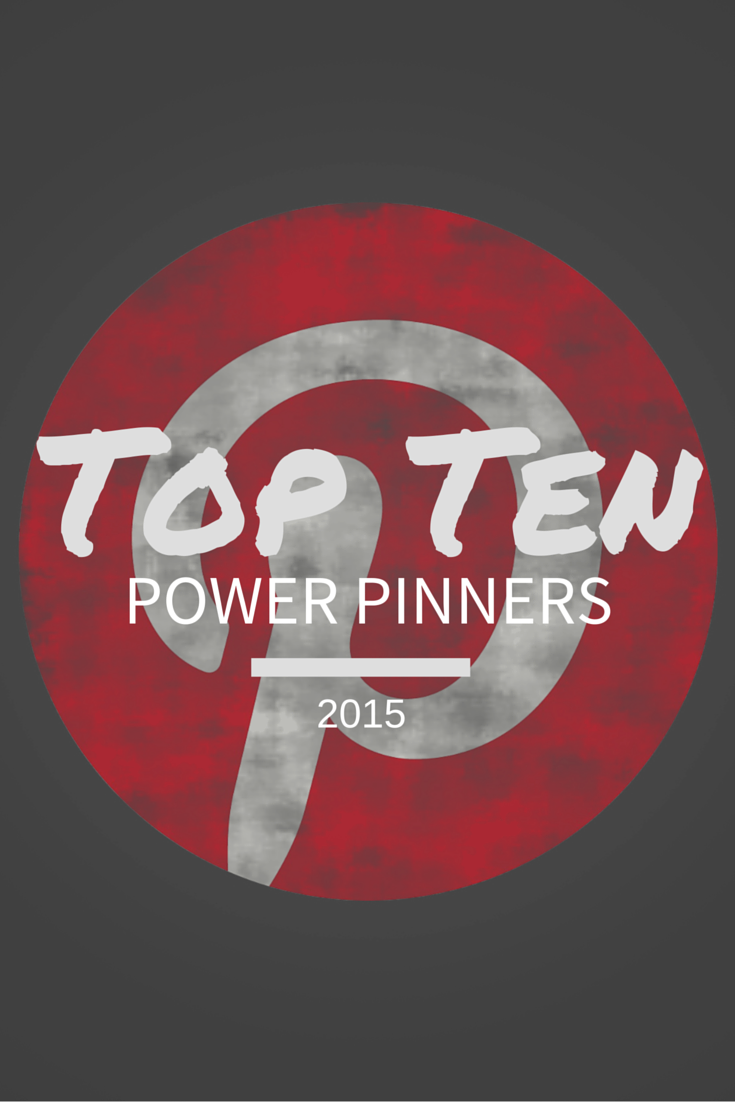 We have got the low down on Pinterest's top ten powerful influencer's 2015