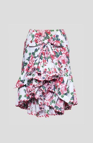 Roses Ruffle Skirt Lena Hoschek - Fashion | Schnitt Konstruktion ...
