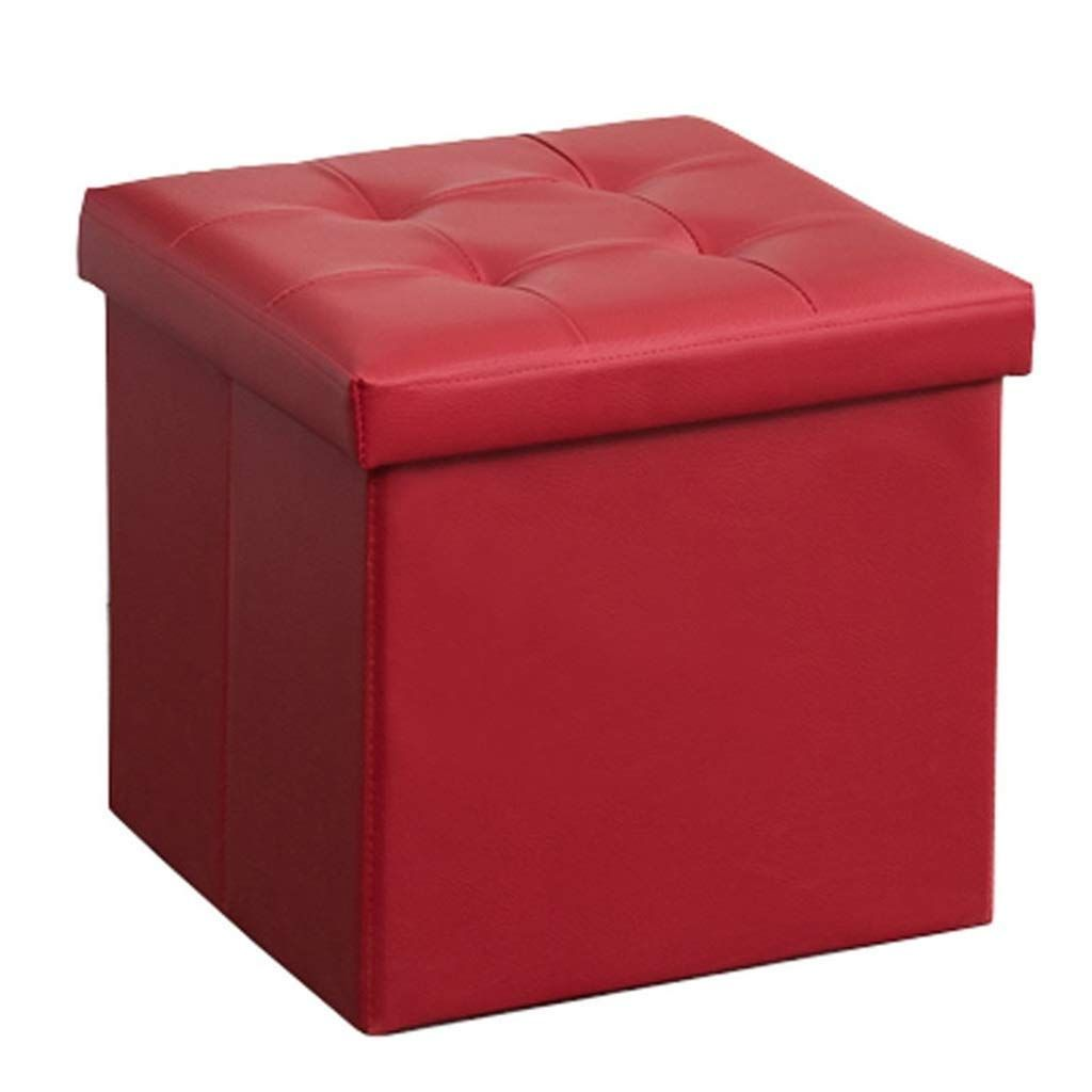 Pin On Leather Ottomans