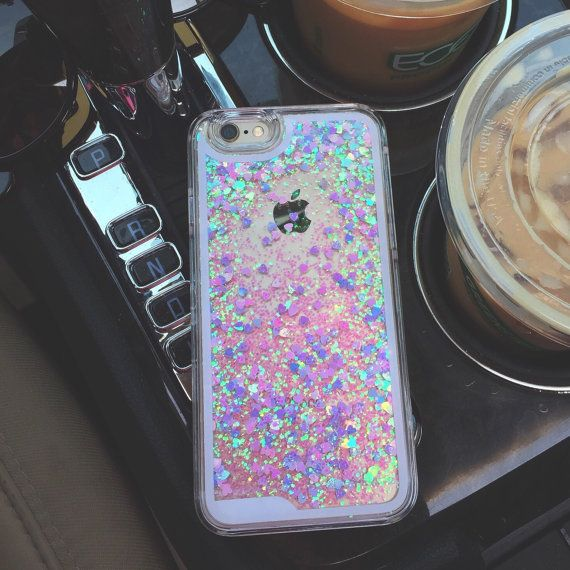 SALE: Liquid Holographic Glitter IPhone Case By
